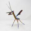 Talla en madera Mantis Floral III por Paul Blas