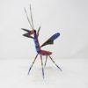 Talla de madera de Mantis Floral VI por Paul Blas
