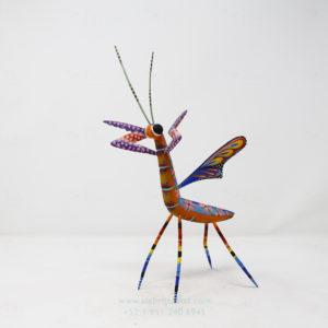 Alebrije Mantis Floral VIII por Paul Blas