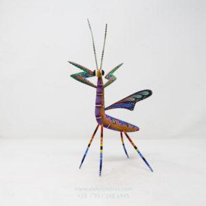 Talla Artesanal de Mantis Floral X por Paul Blas