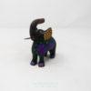Alebrije Elefante Floreado IX Por José Olivera Pérez