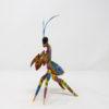 Alebrije Mantis Orquidea por Paul Blas