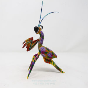 Alebrije Mantis Orquidea III por Paul Blas