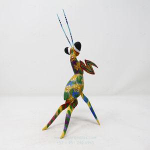 Alebrije Mantis Orquidea VI por Paul Blas