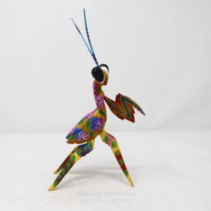 Alebrije Mantis Orquidea VII por Paul Blas