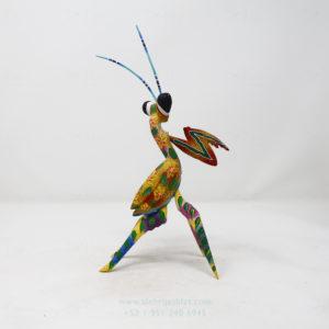 Alebrije Mantis Orquidea X por Paul Blas