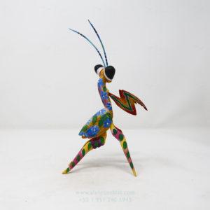 Alebrije Mantis Orquidea XII por Paul Blas