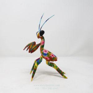 Alebrije Mantis Orquidea XIV por Paul Blas