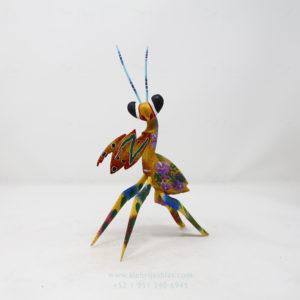 Alebrije Mantis Orquidea XVI por Paul Blas