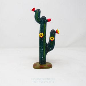 Alebrije Cactus con biznagas II