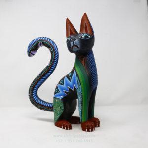 Gran Gato Negro por Ángel Ramírez