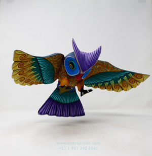 Búho Volando por Ángel Ramírez
