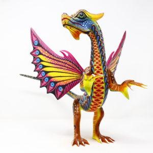 Alebrije Dragón de Feroz, Talla en Madera II