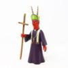 Alebrije Obispo Diablo, Talla en Madera