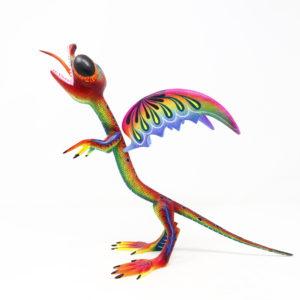 Artesanía de Madera, Dragón Cuatlicue Alebrije