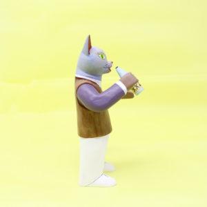 Alebrije Hombre Gato, Madera Tallada