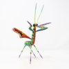 Mantis VI tallada en madera de copal por Paulino Blas