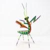Mantis IX tallada en madera de copal por Paulino Blas