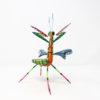 Mantis XIII tallada en madera de copal por Paulino Blas