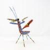 Mantis XXIII tallada en madera de copal por Paulino Blas