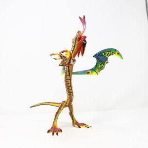 Alebrije Dragón Tallado a mano por Melecio Blas