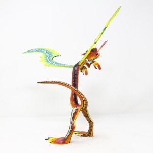 Alebrije Dragón II Tallado a mano por Melecio Blas