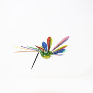 Alebrije Colibrí IV - Artesania de madera pintada a mano