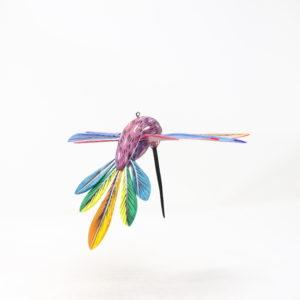 Alebrije Colibrí XIV - Artesania de madera pintada a mano